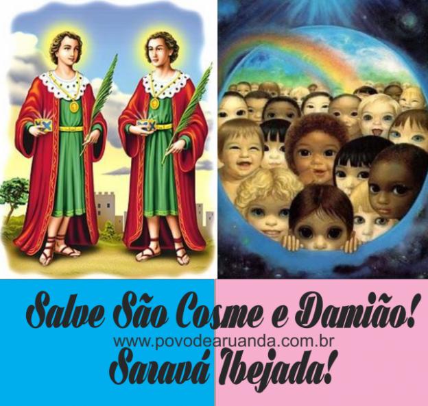 SALVE AS CRIANÇAS E SALVE COSME E DAMIÃO!!!